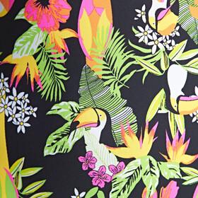 Zoggs Paradise Flyback - Maillot de bain Enfant - noir/Multicolore